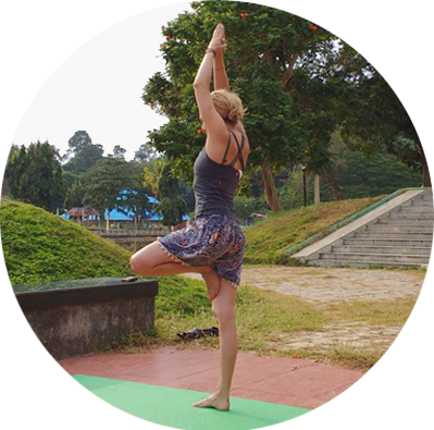Incredible Outer Forest Yoga Escape